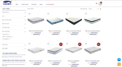 Website có các tính năng thông minh hỗ trợ tối ưu cho người dùng.