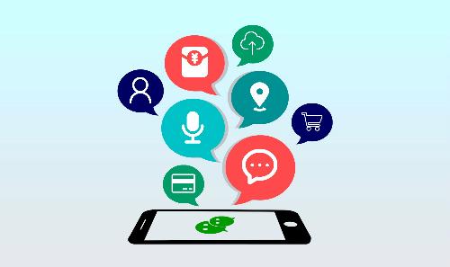 Ngoài trò chuyện, WeChat tại Trung Quốc còn có dịch vụ giao thức ăn,chuyển tiền, thanh toán, đặt lịch bác sỹ, đọc báo, chơi game, làm mới hộ chiếu, quyên từ thiện...