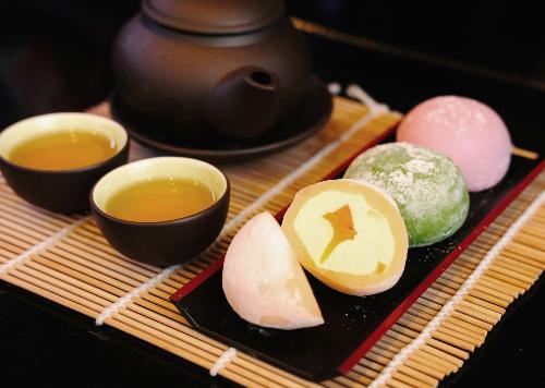 Bánh Mochi có nhiều hương vị đặc biệt.