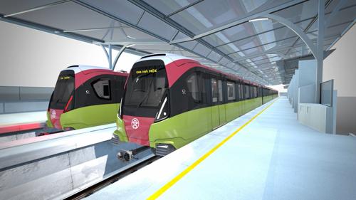 Dự kiến khi đi vào hoạt động, tuyến metro số 3 sẽ là 1 điểm nhấn trong giao thông thành phố của người Hà Nội.
