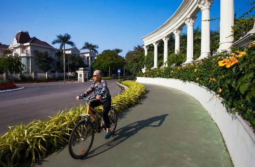 Hệ thống tiện ích hoàn thiện trong khu đô thị Ciputra