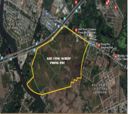 Dự án Khu công nghiệp Phong Phú được Sacombank rao phân phối có giá khởi điểm 7.600 tỷ đồng.