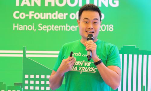 Jerry Lim - Tổng giám đốc Grab Việt Nam. Ảnh: Anh Tú