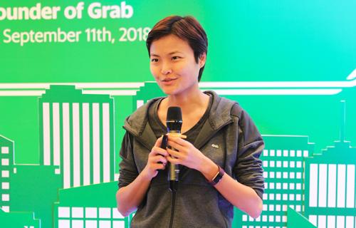 Tan Hooi Ling - Đồng sáng lập Grab. Ảnh: Anh Tú