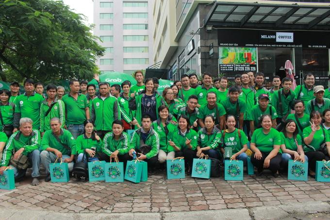 Đồng sáng lập Grab trò chuyện cùng tài xế Việt
