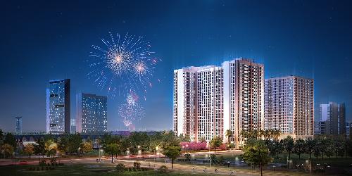 Anland Premium tọa lạc tại cửa ngõ khu đô thị Dương Nội.
