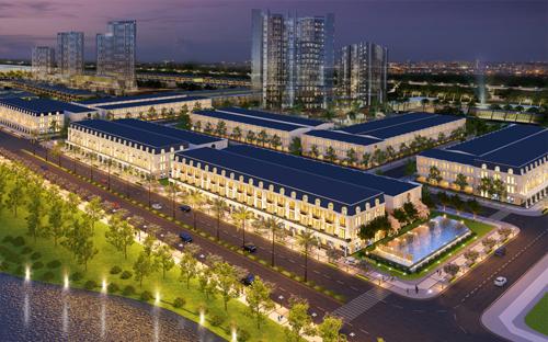 Homeland Group ra mắt khu phố thương mại châu Âu
