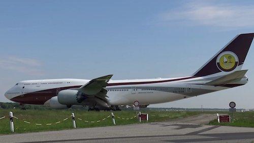 Vẻ bên ngoài bệ vệ của chiếc Boeing 747-8 VIP