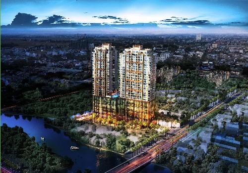 Phối cảnh tổng quan dự án Southgate Tower.