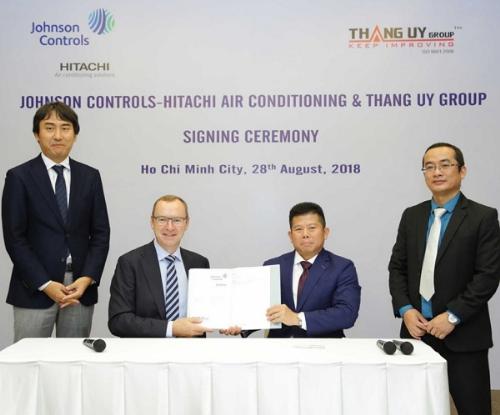 Điều hòa Johnson Controls-Hitachi thành lập công ty ở Việt Nam