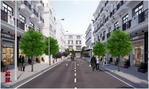 Ra mắt khu nhà phố thương mại đẳng cấp tại Hải Phòng