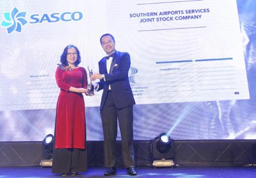 Sasco vào danh sách những nơi làm việc tốt nhất châu Á