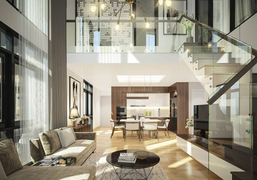 Dự án CT Home Bình Thạnh phát triển dòng căn hộ gác lửng