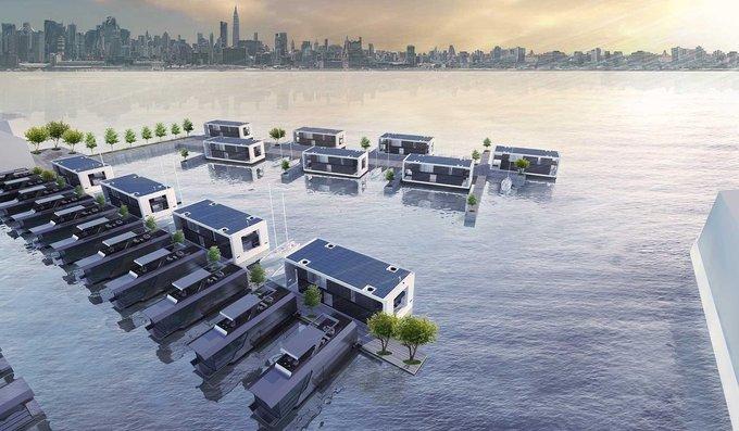 Nhà nổi chống bão giá 3 triệu USD của Mỹ