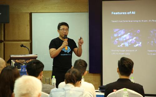 Giải pháp 'đám mây' Blockchain cho công ty AI Việt Nam