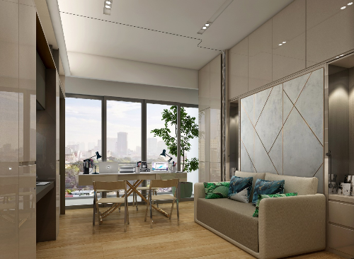 Dự án Alpha City phát triển theo mô hình khu phức hợp cao cấp