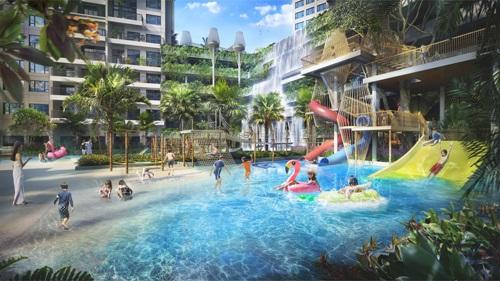 Keppel Land sắp ra mắt căn hộ phong cách Hawaii tại quận 7