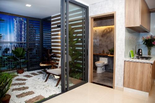 Thiết kế mở bên trong các căn hộ của CT Home Bình Thạnh
