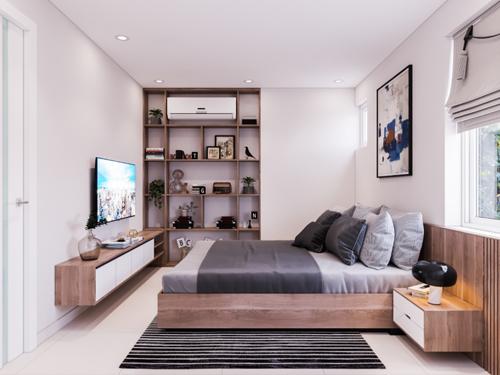 Căn hộ 3 phòng ngủ vừa tiền tại Mipec City View