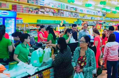 Một cửa hàng Bách hoá xanh tại TP HCM.