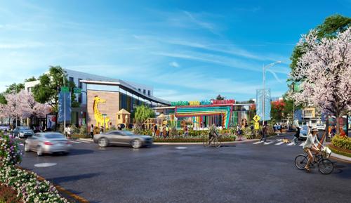 Khu đô thị thương mại Viva Park có nhiều lợi thế nổi bật