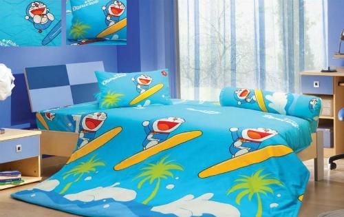 Bộ chăn gối Doraemon mã D18-019ngộ nghĩnh dành cho các bé