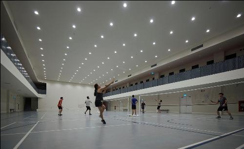 Phòng luyện tập thể dục, thể thao được đầu tư đồng bộ, dành riêng cho cư dân dự án.