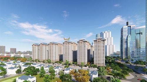 Khu đô thị Thanh Hà - thành phố xanh thu nhỏ ở Hà Nội