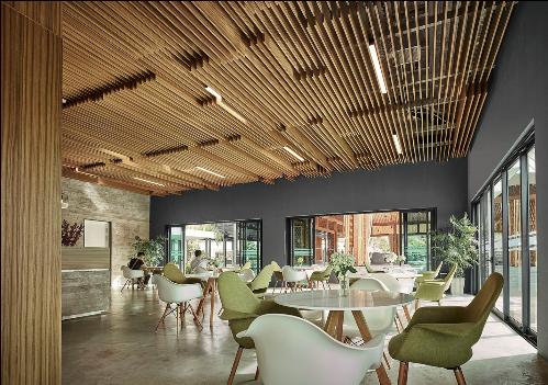 Được đầu tư với kinh phí lên tới 20 triệu USD, tổ hợp tiện ích ParkCity bao gồm hệ thống tiện ích theo tiêu chuẩn 5 sao bao gồm 2 bể bơi ngoài trời riêng biệt, một bể bơi trong nhà, phòng tập gym rộng 890 m2, 3 sân tennis, khu nướng BBQ, lầu vọng cảnh.Trong đó, không gian tại ParkCity Club nổi bật lên phong cách hiện đại, tinh tế và sang trọng. Bar cà phê được thiết kế với nhiều cửa kính lớn giúp mở rộng giác quan để tận hưởng vẻ đẹp bình yên, thư thái.