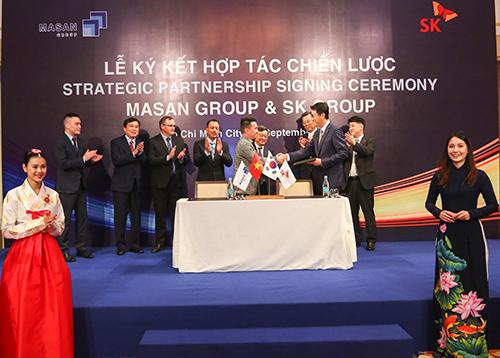 SK Group thành cổ đông nước ngoài lớn nhất của Masan