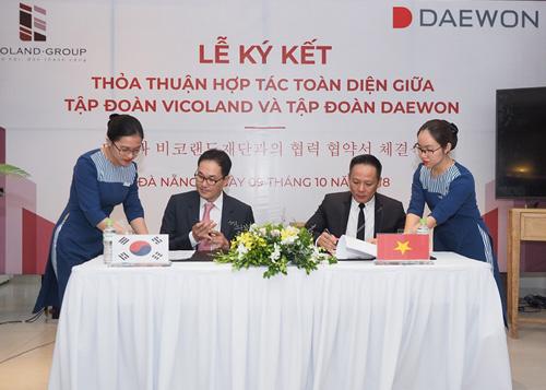 Vicoland ký hợp tác toàn diện với Tập đoàn Daewon Hàn Quốc