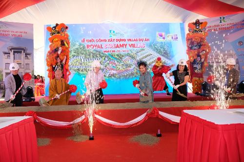 Khởi công xây dựng dự án Royal Streamy Villas tại Phú Quốc