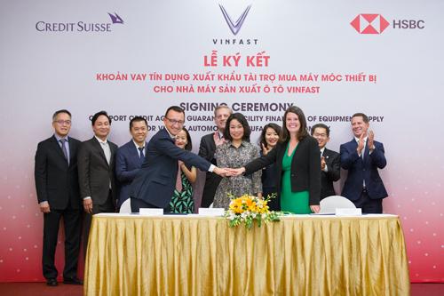 VinFast được bảo lãnh khoản vay 950 triệu USD nhập khẩu thiết bị