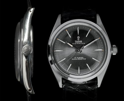 Tudor Oysterthin là chiếc Tudor mỏng nhất, chỉ dày có 6mm và là 1 trong một vài chiếc hiếm nhất, sản xuất số lượng có hạn và chỉ diễn ra trong vài năm, từ năm 1957 tới năm 1963. Trong bối cảnh thập niên 50, đấy là cột mốc trong lịch sử ngành đồng hồ địa cầu là chiếc Tudor mỏng nhất vẫn chống nước tốt.