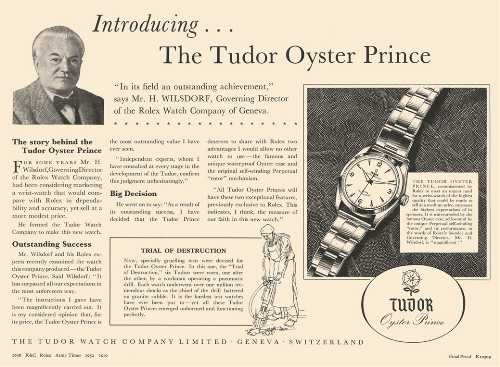 Vài thập kỷ phát triển, một vài dòng đồng hồ của Tudor được nhiều nhà sưu tập ưu thích. Mỗi sản phẩm đều