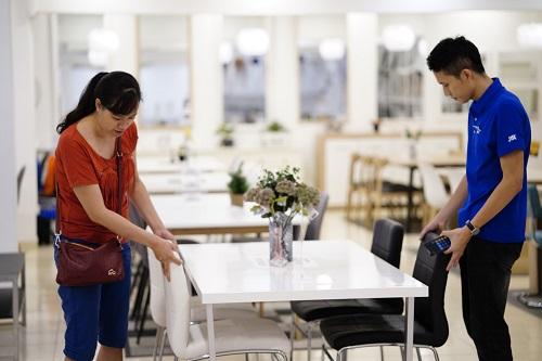 Thế mạnh của JYSK Việt Nam là nội thất phòng khách, phòng ăn, phòng ngủ.