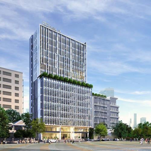 Cất nóc tòa cao ốc văn phòng Park IX gần sân bay Tân Sơn Nhất - 2