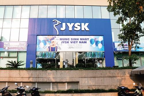 JYSK Việt Nam ưu đãi đặc biệt mừng kỷ niệm ba năm hoạt động tại Việt Nam.