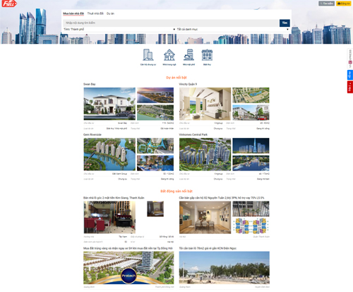 Bốn ưu thế của trang rao bán nhà đất trên VnExpress