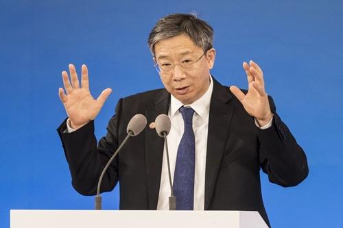Thống đốc Ngân hàng trung ương Trung Quốc  Yi Gang. Ảnh: Yi Gang