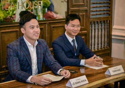 Hai trong số ba nhà sáng lập là Lê Đăng Khoa và Ngô Anh Tuấn.