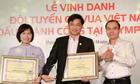 Nam A Bank thưởng 20.000 USD cho đội tuyển cờ vua Việt Nam