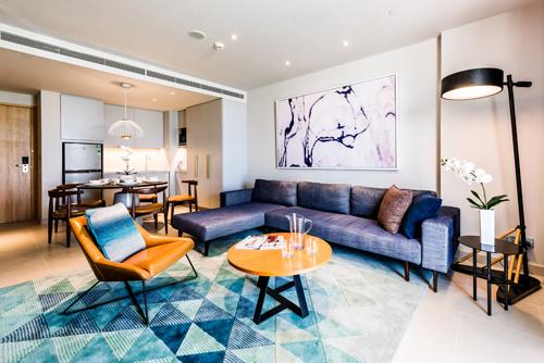 Những điểm nhấn thiết kế nội thất của khu nghỉ dưỡng Alma