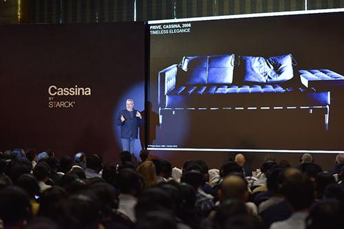 Hơn 1.000 khách tham dự hội thảo của kiến trúc sư Philippe Starck