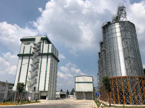 Nhà máy thức ăn chăn nuôi của Cargill tại Bình Dương