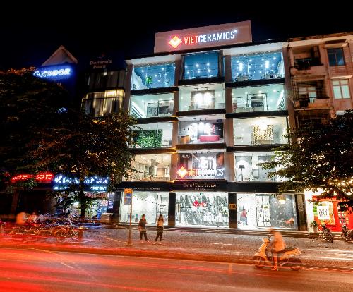 Vietceramics khai trương showroom thiết kế và trưng bày thứ hai tại Hà Nội