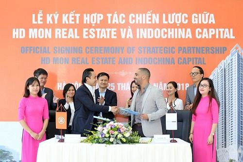 HD Mon Holdings chọn Indochina Capital phân phối dự án tại trung tâm Mỹ Đình