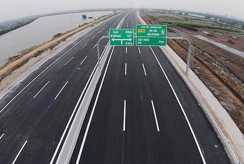 Chủ đầu tư cao tốc Hà Nội - Hải Phòng lo phá sản vì chậm được hoàn tiền