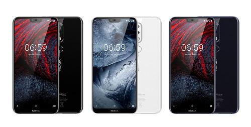Nokia 6.1 Plus sở hữu thiết kế tai thỏ thịnh hành nhất hiện nay.