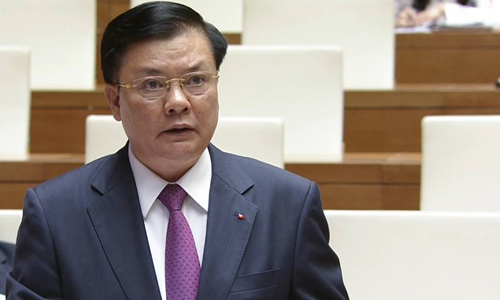 """Bộ trưởng Tài chính: """"Nợ nước ngoài sát trần, nghĩa vụ trả nợ gốc tăng nhanh"""""""